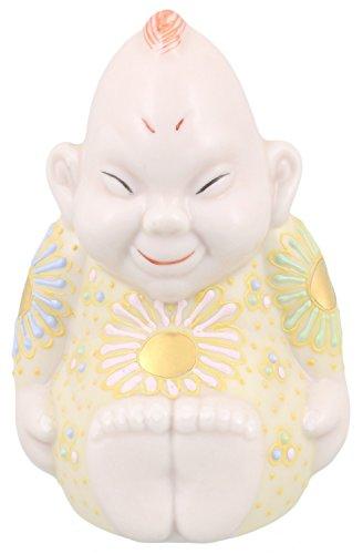 九谷焼 福の神 ビリケン 3号 色盛 A-0022...
