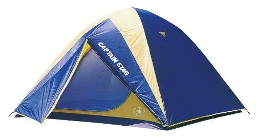 キャプテンスタッグ キャンプ用品 テント キャリーバッグ付 ドーム 5~6人用 レニアスM-3106