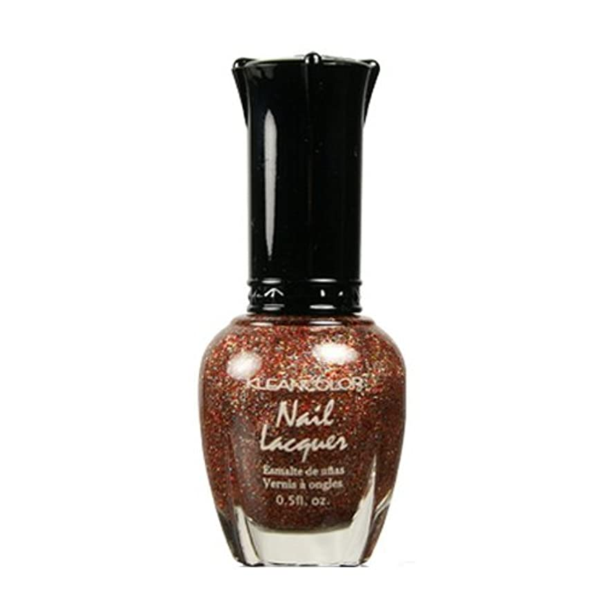 (6 Pack) KLEANCOLOR Nail Lacquer 4 - Salsa Much (並行輸入品)