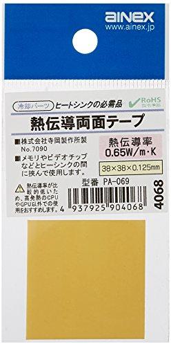 アイネックス CPU用熱伝導 両面テープ PA-069