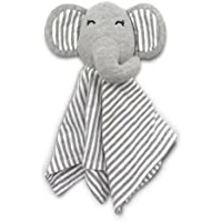 Coney Island Cotton Lovey Security Blanket Blankie Soft Cuddly Elephant Perfect Size For Baby 11.8By 11.8 by Coney Island Cotton