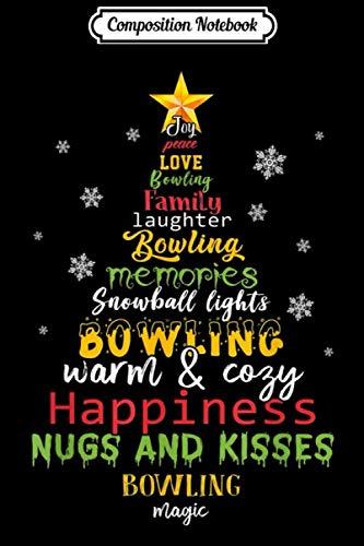 [画像:Composition Notebook: joy peace love bowling family laughter bowling memories Journal/Notebook Blank Lined Ruled 6x9 100 Pages]