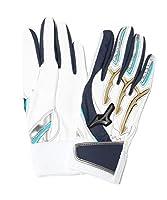 限定 ミズノ 少年 野球 ジュニア バッティング手袋 両手 シリコンパワーアークJr. 1EJEY015 miz18fw