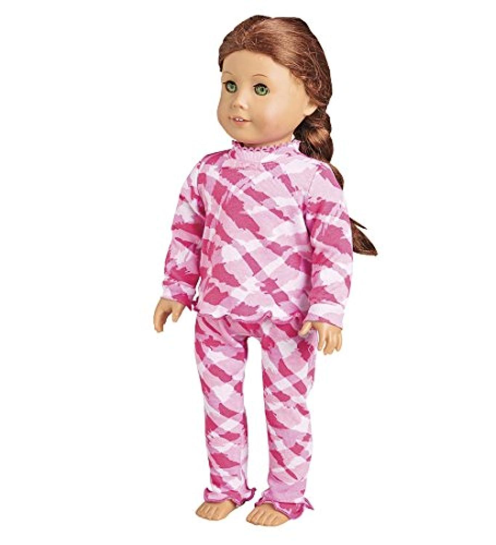 コットンRuffle人形パジャマ、Zebra
