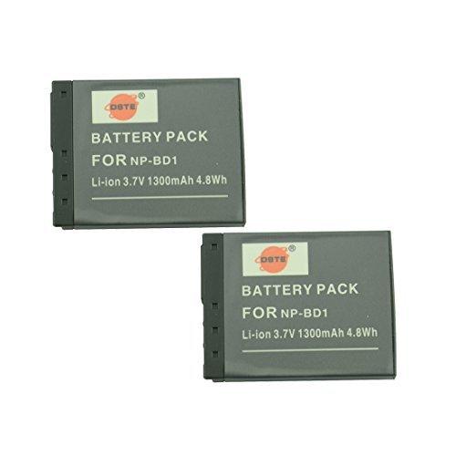 DSTE® アクセサリ NP-BD1 NP-FD1 互換 カメラ バッテリー 2個 対応機種 Cyb...