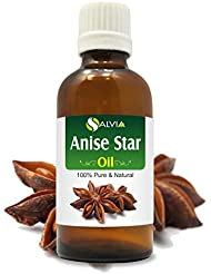 Anise Star Essential Oil (Illicium verum) 100% Pure & Natural - Undiluted Uncut Therapeutic Grade - Perfect For...