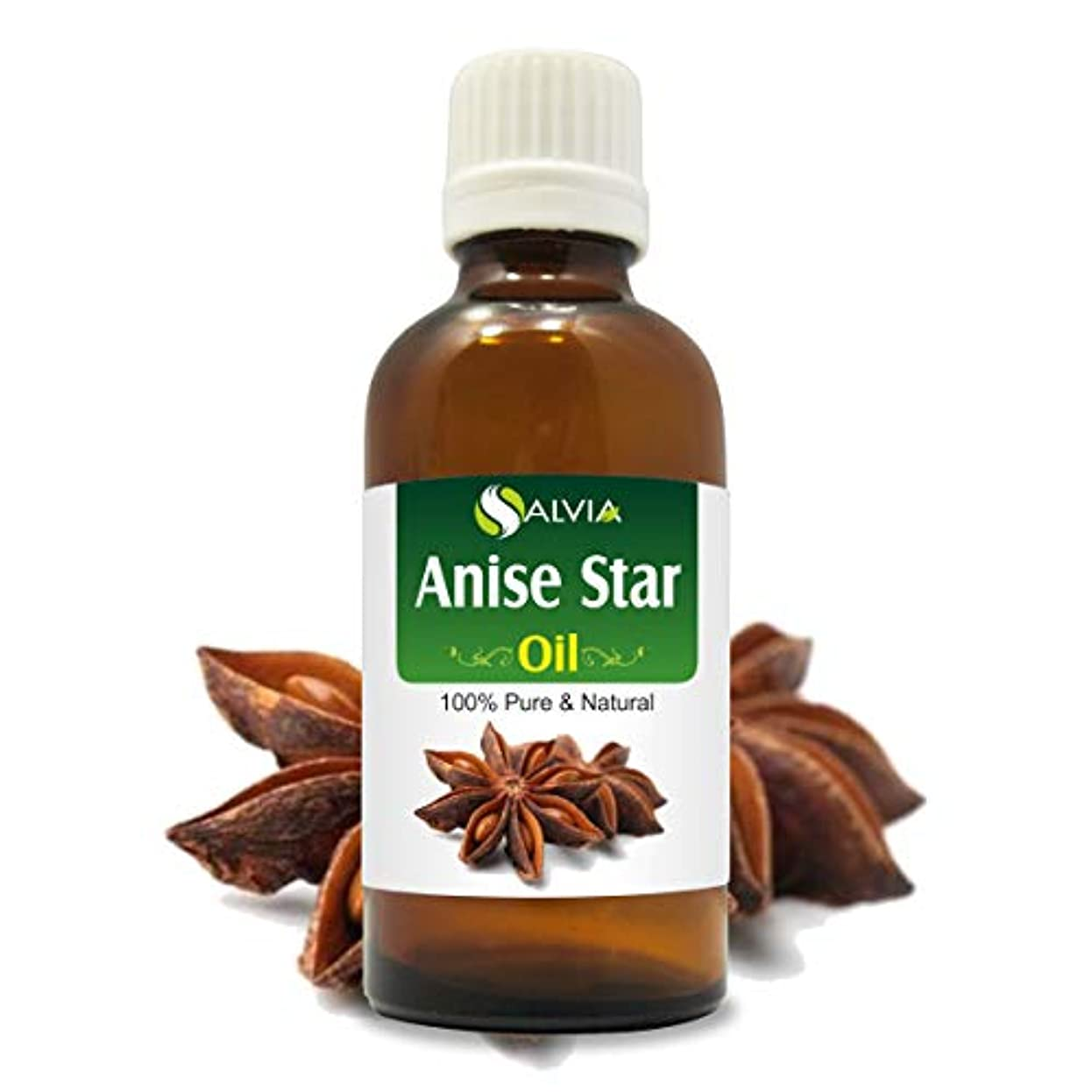 どこにもスキーム感性Anise Star Essential Oil (Illicium verum) 100% Pure & Natural - Undiluted Uncut Therapeutic Grade - Perfect For...