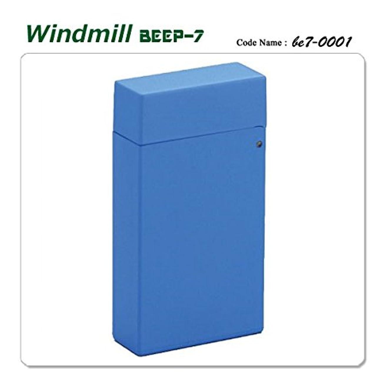 同じ一月幼児Windmill ウインドミル 内燃式ターボライター ガスライター BEEP7 0001 ビープ7 ブルー be7-0001