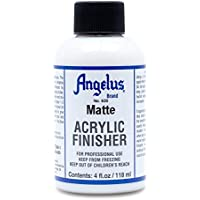 Angelus Brand Acrylic Leather Paint Matte Finisher No. 620-4oz