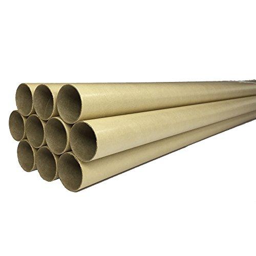 [해외]紙芯 둥근 통 종이 튜브 원단 보관 용 종이 통 & lt; 10 개 세트 & gt; 직경 38mm × 1200mm 두께 1.0mm/Paper core round tube Paper tube for paper storage Paper tube & lt; 10 pieces set & gt; diameter 38 mm × 1200 mm wall thickness 1.0 ...