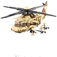 Dhnewsun Black Hawk Helicopter 439ピースBuilding Blocksセット