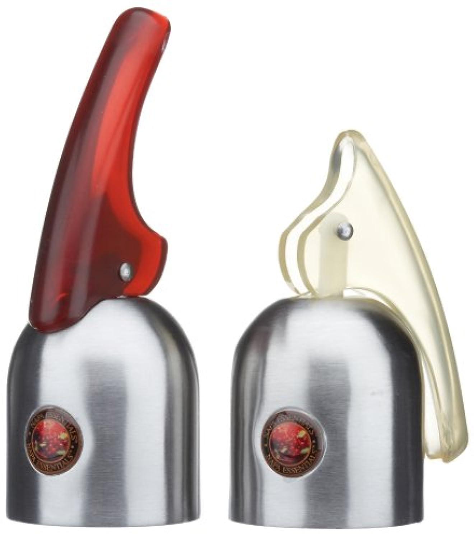 Napa Essentials ワインボトルストッパー 2点セット エクスパンドトゥフィット