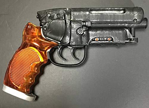 高木型 爆水拳銃 リペイントブルーイング仕上げ デッカードブラスター風水鉄砲