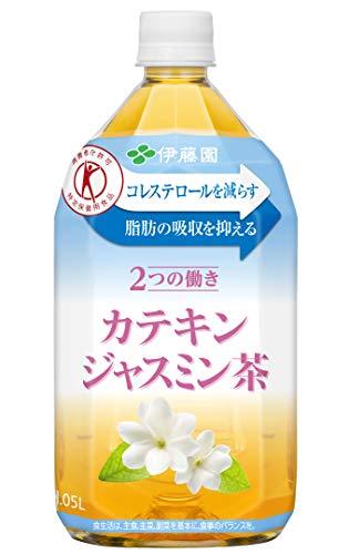 伊藤園 2つの働き カテキンジャスミン茶 1.05L 1箱