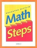 Mathsteps, California Edition: Level 3 (Houghton Mifflin Math Steps)