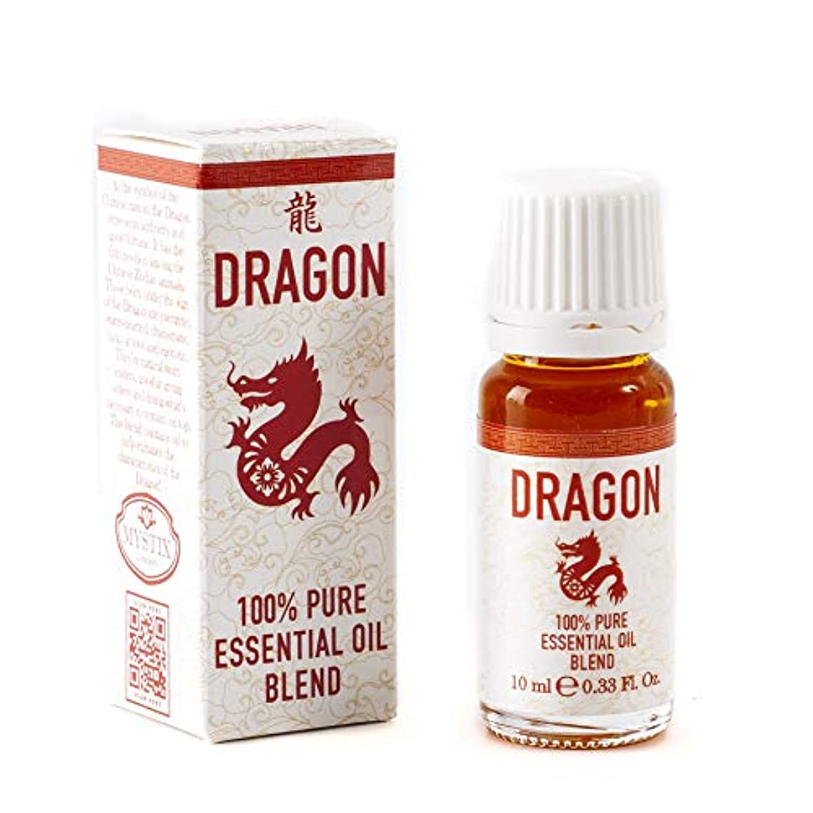 害虫迫害傑出したMystix London | Dragon | Chinese Zodiac Essential Oil Blend 10ml