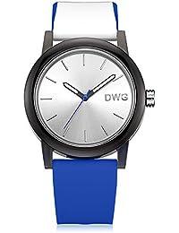 DWG 腕時計 色×5! 10バリエーション シリコン ウォッチ 軽量 柔らかい 鮮やか 夏日に最適 防水 運動 ペアウォッチ 結婚記念日 プレゼント 男女兼用