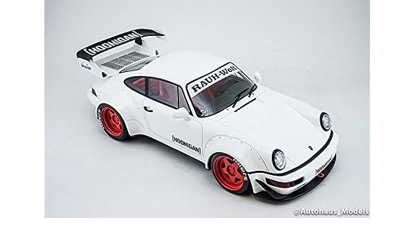 1:18 GT Spirit Porsche 911 RWB Hoonigan white 964