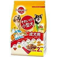 (まとめ)ペディグリー それいけ!小型犬 チキン入り 2kg【×6セット】【ペット用品・犬用フード】