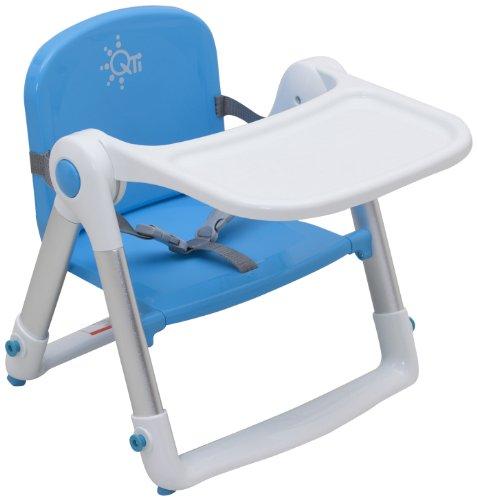 日本育児 ベビーチェア スマートローチェア ブルー 1人で座れるようになってから15kgまで対象 折りたたんで持ち運べる
