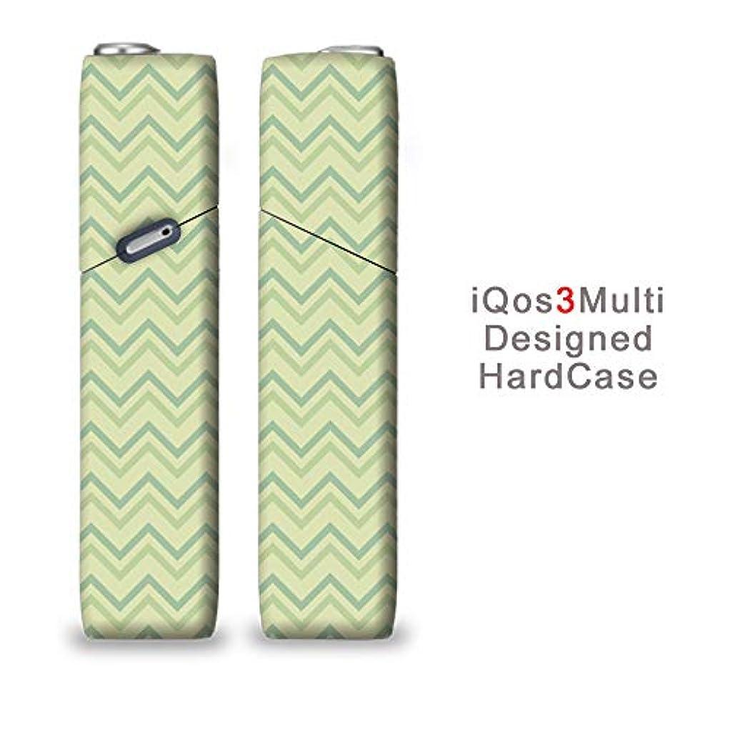 完全国内受注生産 iQOS3マルチ用 アイコス3マルチ用 熱転写全面印刷 きれいな山型 加熱式タバコ 電子タバコ 禁煙サポート アクセサリー プラスティックケース ハードケース 日本製