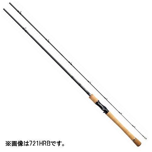 ダイワ(Daiwa) バスロッド ベイト ブラックレーベル FRシリーズ 721HRB 釣り竿