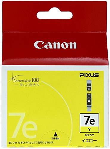 Canon 純正インクカートリッジ BCI-7e イエロー BCI-7EY
