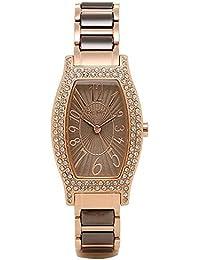 (フォリフォリ) FOLLI FOLLIE フォリフォリ 時計 レディース FOLLI FOLLIE WF2B027BPB WINTER WISHES ウィンターウィッシーズ 腕時計 ウォッチ ブラウン/ゴールド[並行輸入品]