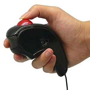 マウス Handheld Wired Trackball Mice Mouse ハンドヘルド有線トラックボールマウス