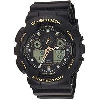 Men's Casio G-Shock Analog-Digital Black Strap Watch GA100GBX-1A9