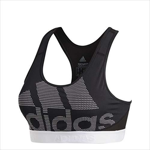 adidas (アディダス) W ミディアムサポート ALPHASKIN TEAM Biglogo DRSTブラ (DH4446) FKA64 1810 レディース