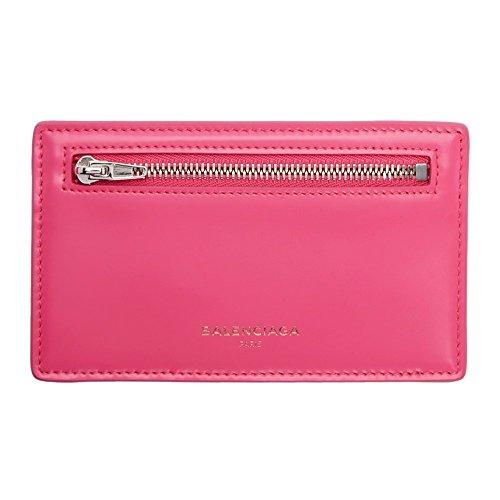 (バレンシアガ) Balenciaga レディース カードケース・名刺入れ Pink Essential Long Card Holder [並行輸入品]