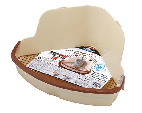 ミニアニマン ウサギの固定式コーナートイレ Lサイズ