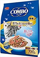 ミオコンボ まぐろ味・カニカマ・小魚添え 700g×12袋
