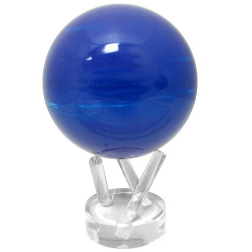 光で回る地球儀 ムーバグローブ MOVA Globe 4.5インチ 惑星・衛星シリーズ【並行輸入品】 (海王星)