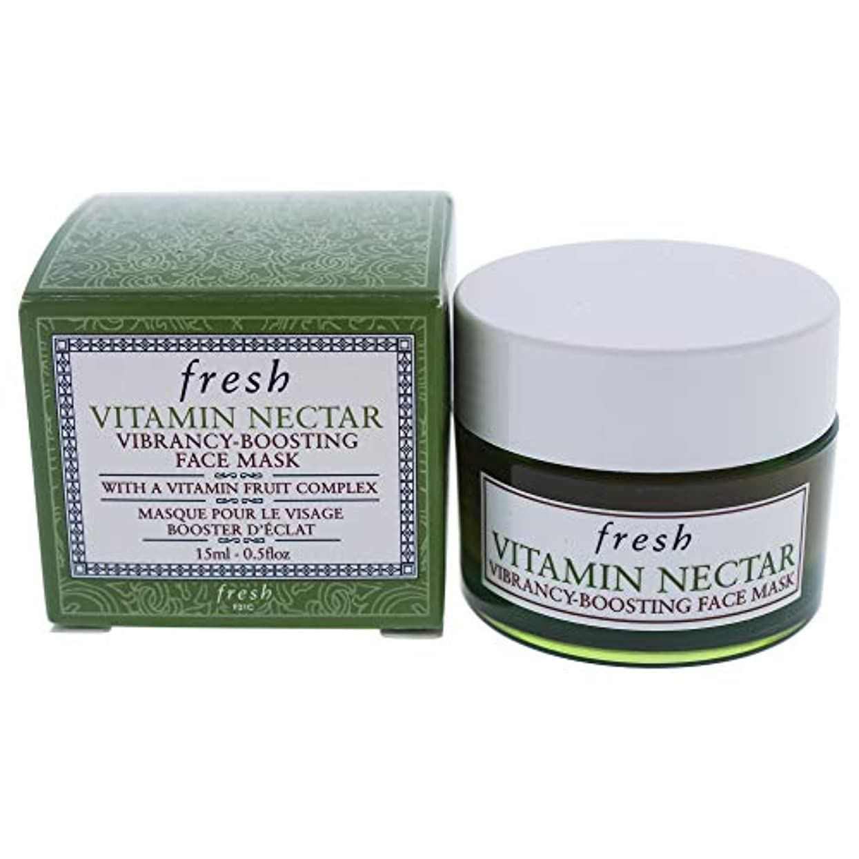 鯨先入観デコレーションVitamin Nectar Vibrancy-Boosting Face Mask