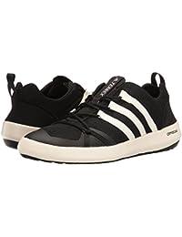 (アディダス) adidas メンズハイキング?アウトドア?トレールシューズ?靴 Terrex Climacool Boat Black/Chalk White/Black 9 (27cm) D - Medium