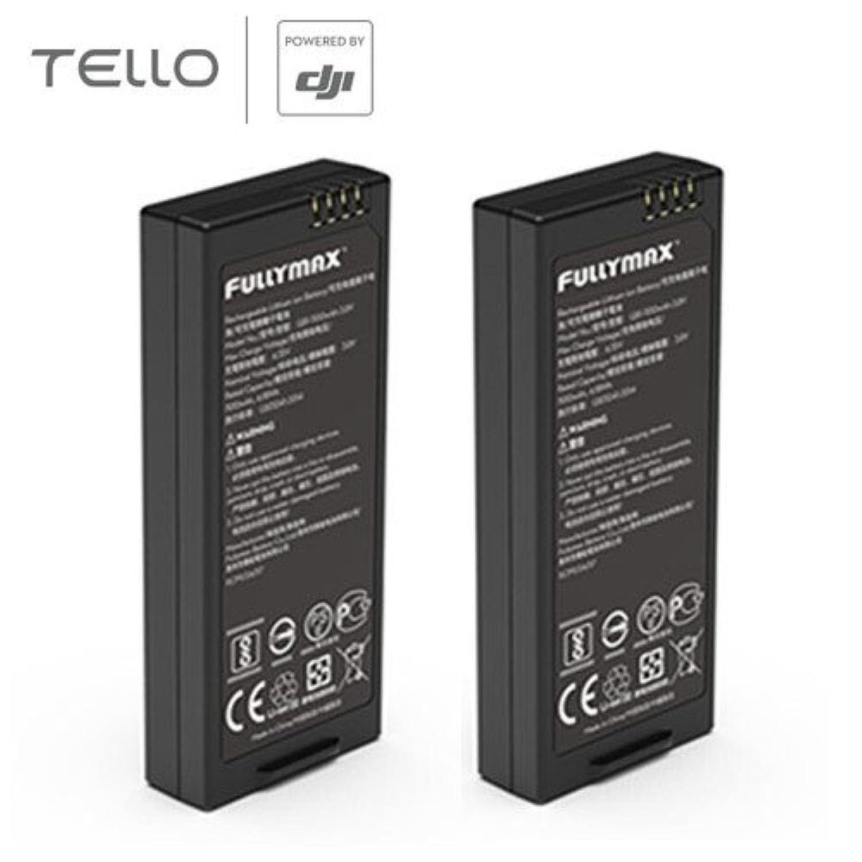 RaiFu オリジナルバッテリー 2 PCS 1100mAh 3.8V DJIスマートフライト用 Tello Droneアクセサリー用