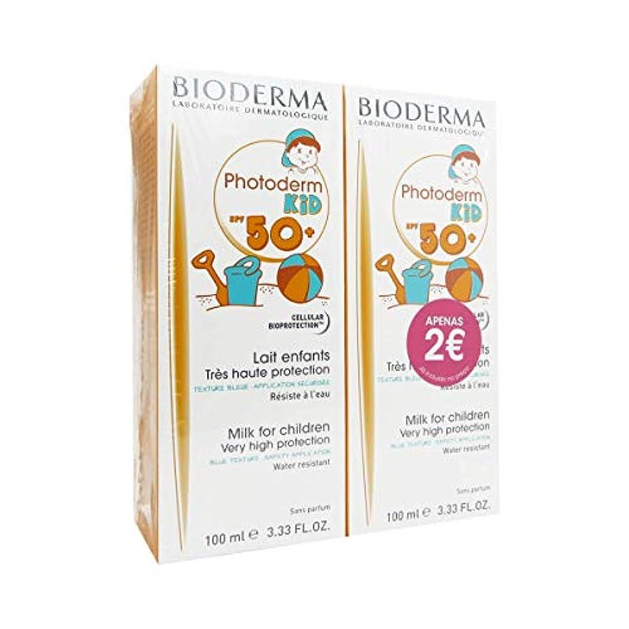 肩をすくめる溶ける博物館Bioderma Photoderm Kid 50+ Milk 2x100ml