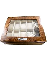 [ベローナ]VERONA 腕時計 コレクション 10本収納ケース 高級ウッドタイプ 189963