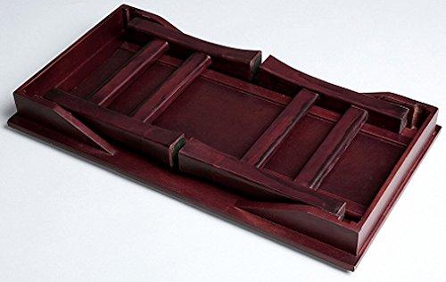 オスマック 桐製 折りたたみ便利机(ミニ) ブラウン SDX-450(BR)