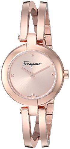 Salvatore Ferragamoフェラガモミニチュア'レディースSwiss QuartzステンレススチールとゴールドCasual Watch (Model : fat070017 )