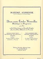 MAXIME ALPHONSE - Nuevos Estudios Vol.5: 20 Estudios muy Dificiles para Trompa