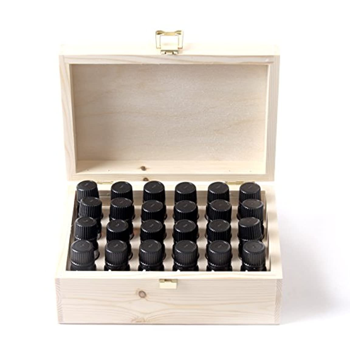 すぐにページェント改善するMystic Moments | Essential Oil Starter Pack In Wooden Gift Box - 24 x 10ml - 100% Pure