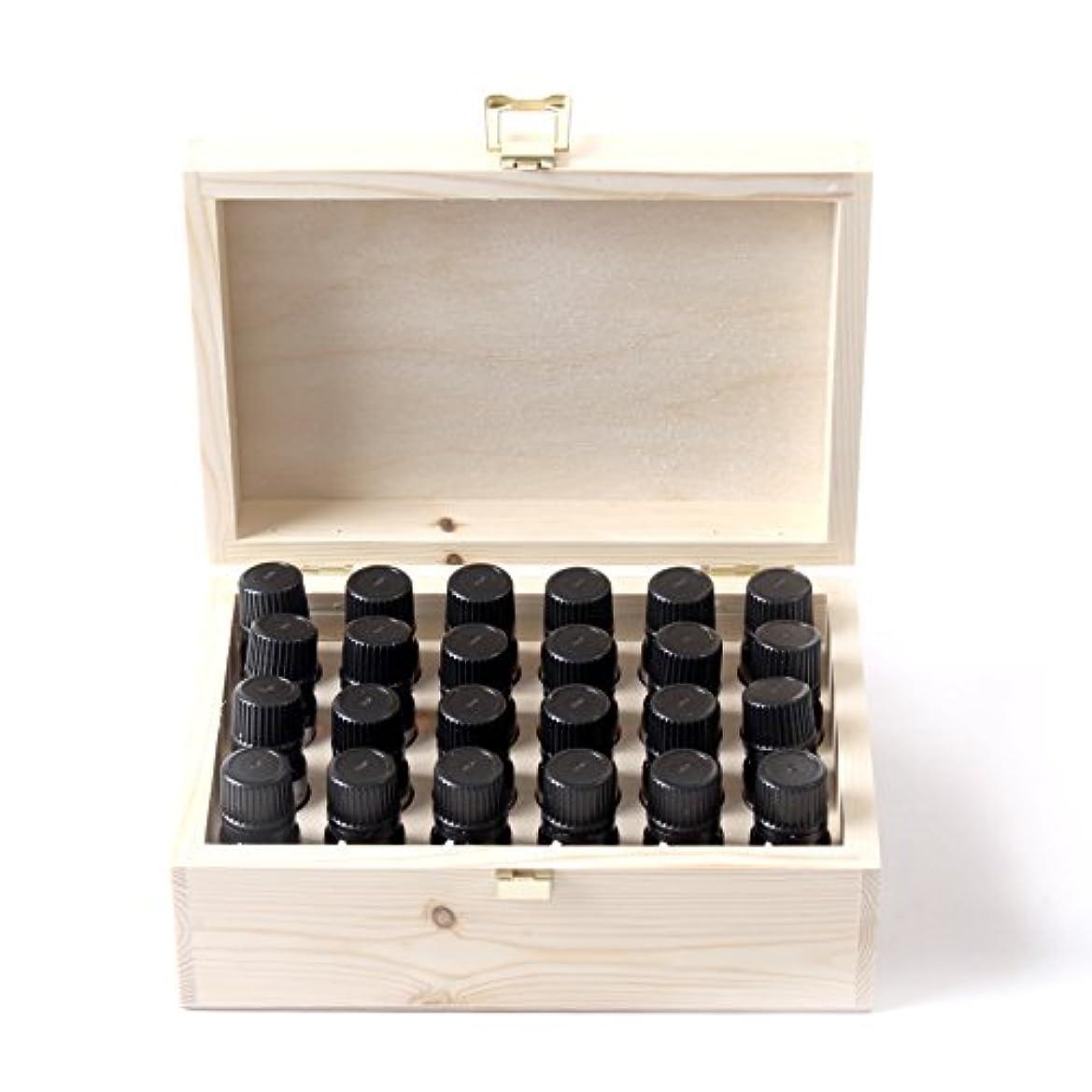 判決嵐の絶滅Mystic Moments   Essential Oil Starter Pack In Wooden Gift Box - 24 x 10ml - 100% Pure