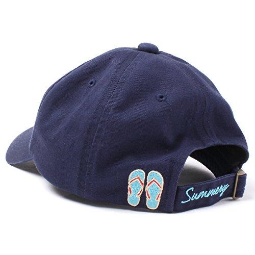 (ラバブル) LOVABLE Sea Cap シーキャップ 帽子 ローキャップ lowcap 浅め 日除け サイズ調整 アジャスター レディース 女性用 フリーサイズ アルファベット サンダル パラソル 56-58cm ベースボール キャップ女子