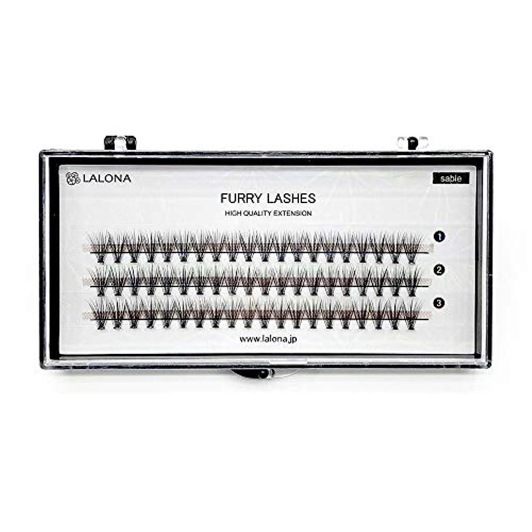 反逆者コンクリート貢献するLALONA [ ラローナ ] ファーリーラッシュ (30D) (60pcs) まつげエクステ 30本束 フレアラッシュ まつエク マツエク 束まつげ セーブル (0.05 / 10mm)