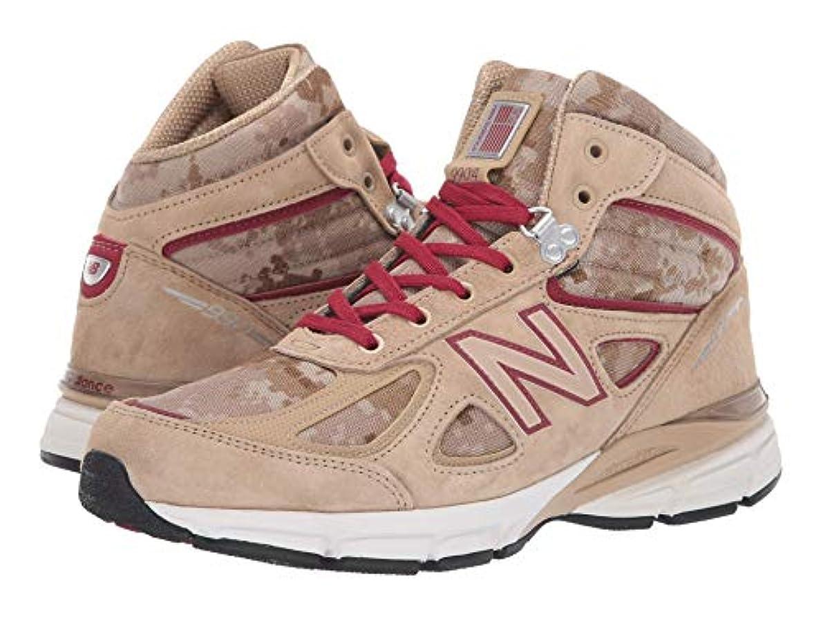 列車石炭政治[ニューバランス] メンズランニングシューズ?スニーカー?靴 990v4 Boot Incense/NB Scarlet 9.5 (27.5cm) D - Medium [並行輸入品]