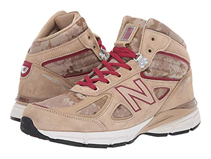 ボウルマナー首[ニューバランス] メンズランニングシューズ?スニーカー?靴 990v4 Boot Incense/NB Scarlet 11.5 (29.5cm) D - Medium [並行輸入品]