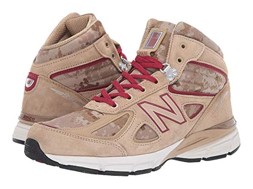 有名人小売添付[ニューバランス] メンズランニングシューズ?スニーカー?靴 990v4 Boot Incense/NB Scarlet 11.5 (29.5cm) D - Medium [並行輸入品]